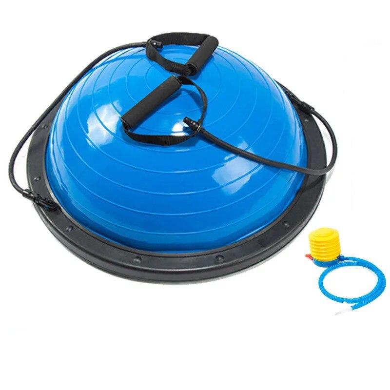 High Quality Yoga Ball Body Balance Half Ball Fitness Ball Exercise Gym Ball Sport Fitball Proof