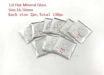 Wholesale 138cs 1.0MM Thick Flat Mineral Watch Glass Select Size from 16mm to 50mm for Watchmakers and Watch Repair - DISCOUNT ITEM  30% OFF All Category