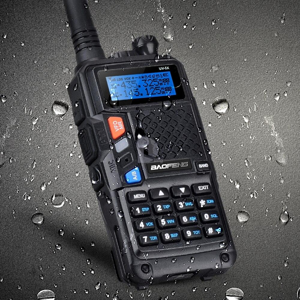 bilder für Original BAOFENG UV-5X Verbesserte Version von UV-5R UV5R Zwei-wege-radio Walkie Talkie FM Funktion Original Hauptplatine P0015842