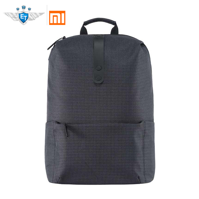 6c129ea88f Original Xiaomi 20L Polyester Youth College Bag Leisure Backpack 15.6 inch  Water-resistant Laptop Bag Strong 20kg Load-carrying