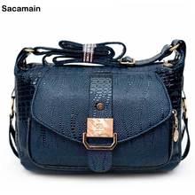 Designer Women Pu Leather Handbags 2017 Messenger Bag Fashion Mini Small Bags Chain Ladies Shoulder Purse And Handbags