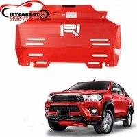 Подходит для hilux Revo пикап передний Двигатели для автомобиля основание автомобиля Нижняя крышка подходит для hilux Revo пикап автомобиль 2015 2017