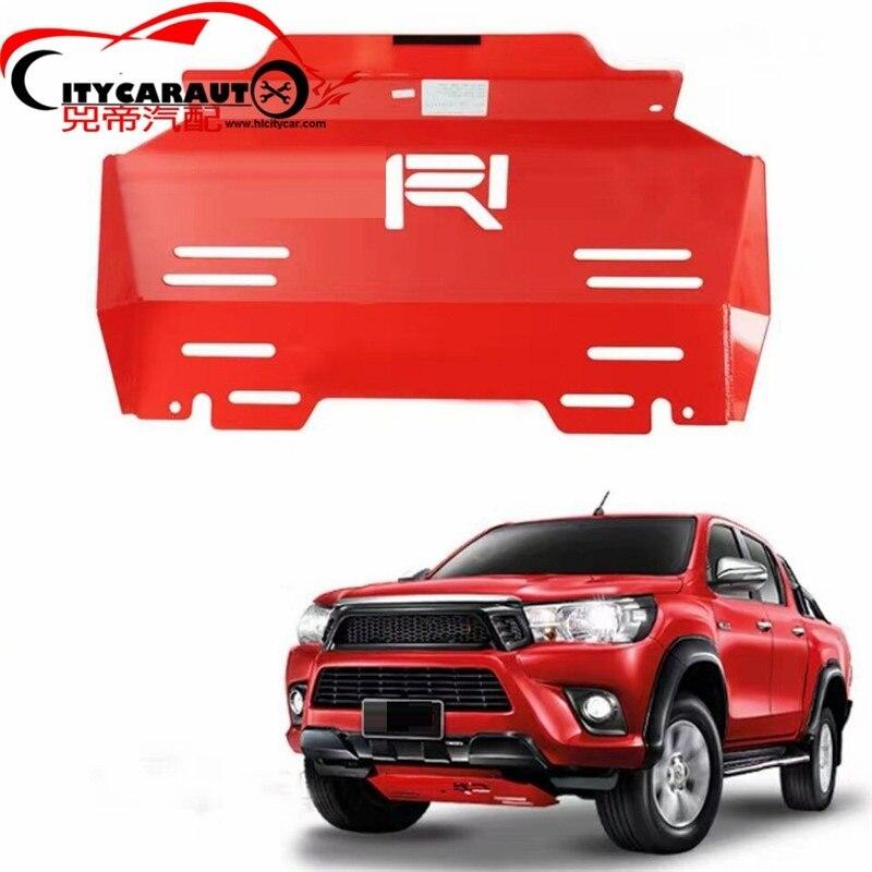 Fit for hilux revo pickup piastra di base del Motore ANTERIORE inferiore auto piastra di copertura fit for Hilux revo auto pick-up 2015-2017