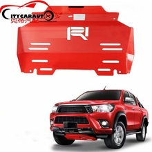fit for hilux revo pickup FRONT Engine base plate car bottom cover plate fit for Hilux revo pickup car 2015-2017