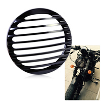 DWCX Headlight Grill Cover For Harley Davidson Sportster XL883 XL1200 2004 2005 2006 2007 2008 2009