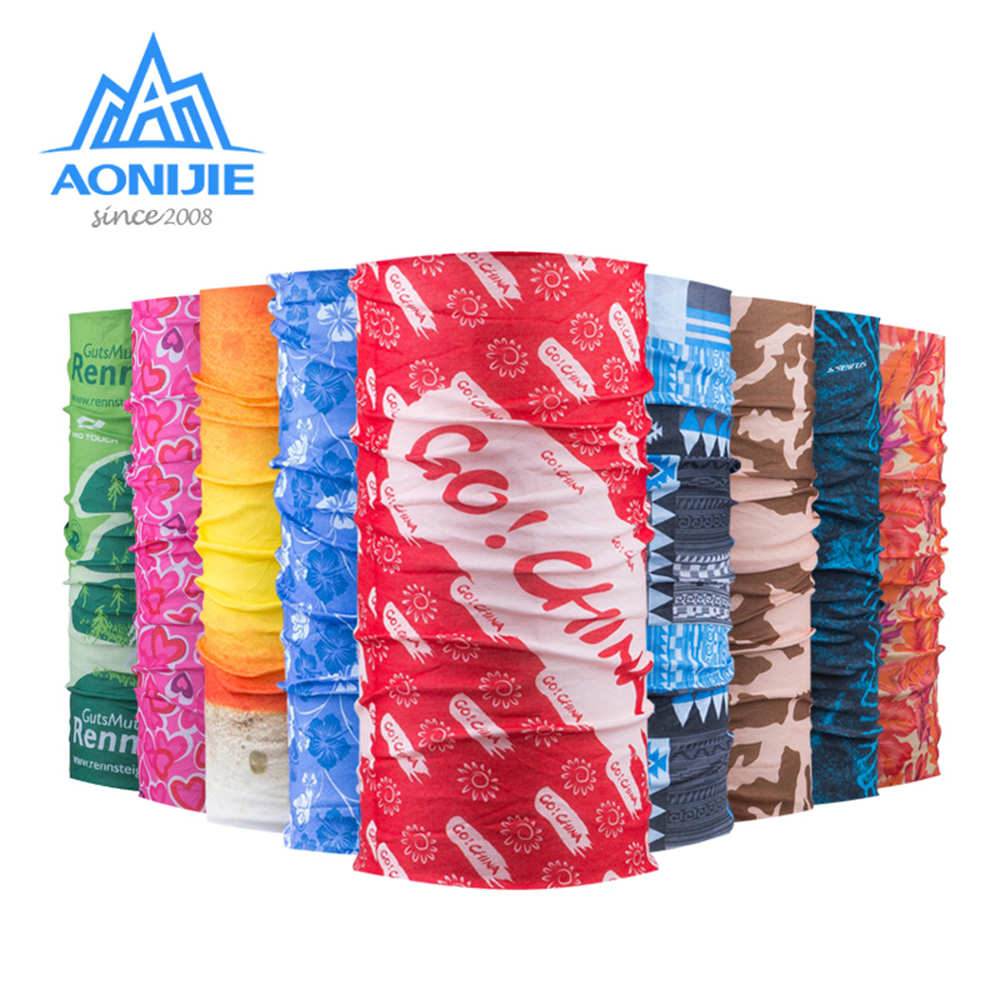 AONIJIE TJ111 Multifunctional Sports Headwear Headband Bandana Balaclava Face Cover Scarf Sweatband Hairband Gym Cycling Yoga