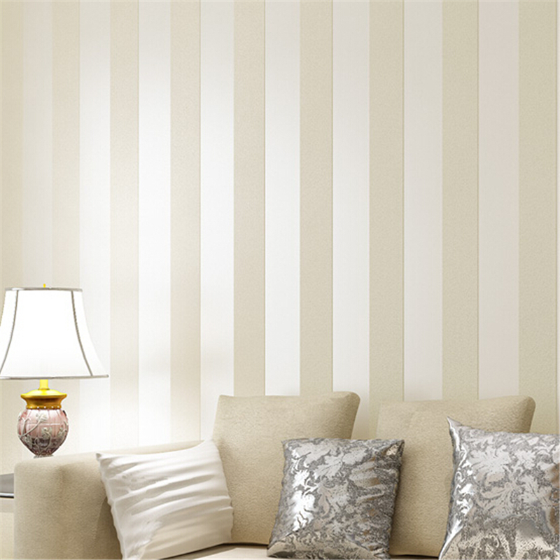 Fashion wallpaper non woven wallpaper simple european 3d for Fashion wallpaper for bedrooms