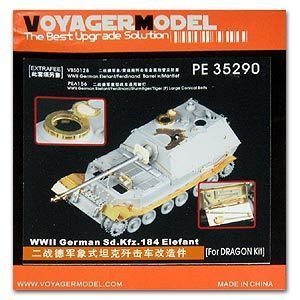 KNL HOBBY Voyager Model PE35290 deed with the escape of chariot upgrade with metal etching (D / T)
