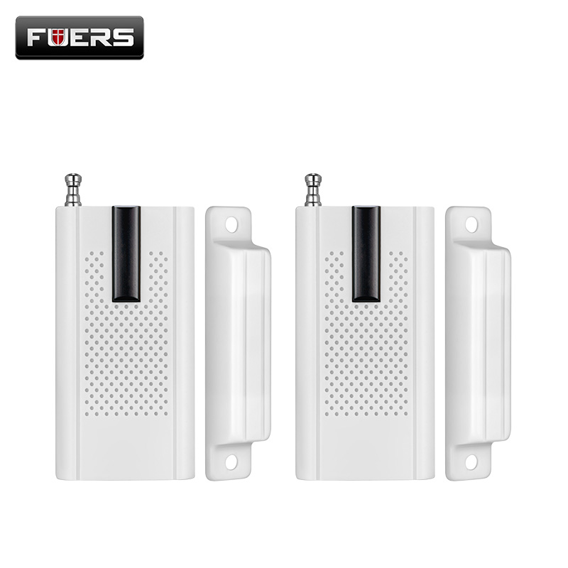 Fuers NEW Wireless Door Window Magnet Sensor Detector For  WG11 Home Alarm GSM Security Alarm 433mhz Door Sensor
