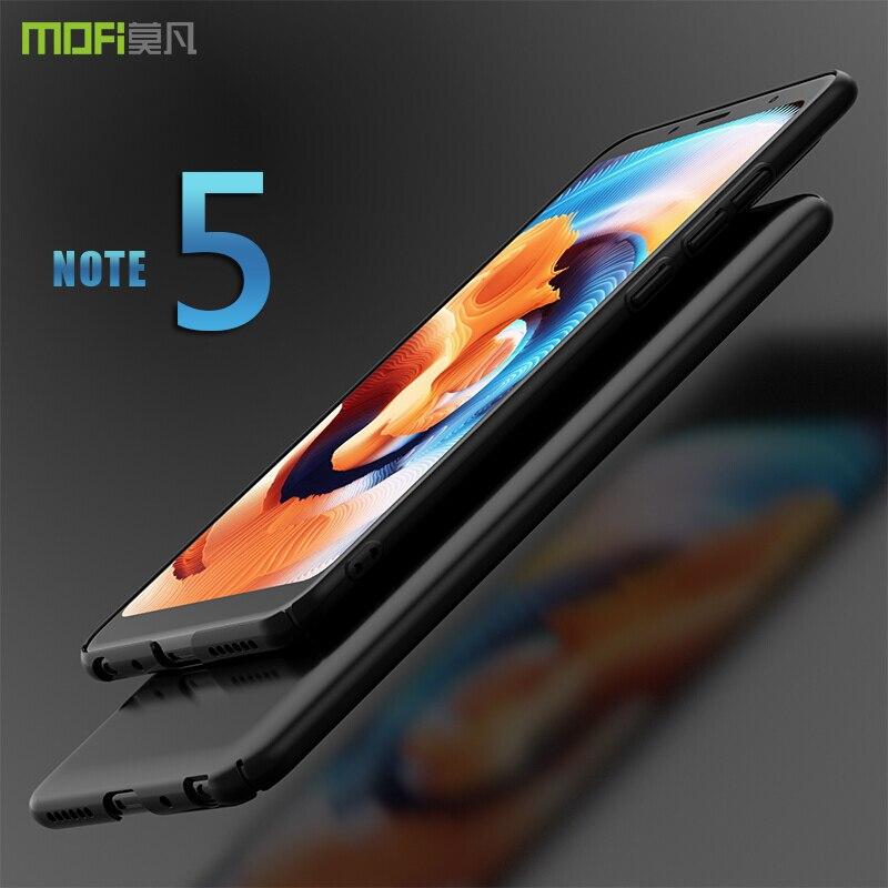 Redmi note 5 cas couverture MOFI redmi note 5 Mondiale Dur PC Retour Cas de couverture pour xiaomi redmi note 5 Pro Full Cover Case Capa 5.99''