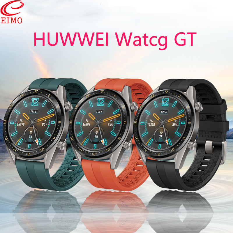 gear <font><b>s3</b></font> <font><b>frontier</b></font> for <font><b>samsung</b></font> galaxy watch 46mm amazfit bip Huawei Watch GT Strap silicone 22mm watch band <font><b>smartwatch</b></font> Bracelet <font><b>S3</b></font> image