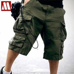 Image 1 - Pantaloni corti Designer Camouflage Pantaloni 2020 Nuovo Arrivo di Estate Mens Cargo Shorts, di cotone 11 Colori Taglia S M L XL XXL XXXL C888