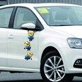 Pequenas Pessoas Amarelas Despicable Me Adesivos Espelho Retrovisor Guirlanda Veículo Porta Lateral Capô Do Carro Adesivos Decorativos Marcas