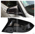 FREE SHIPPING Replacement  Carbon Fiber side mirror covers for BMW F20 F30 1 3 series change to F80 F82 M3 M4