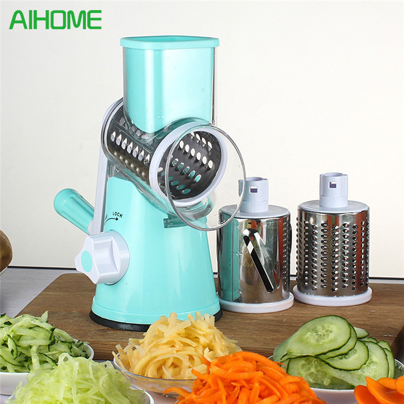 Multifunctional Manual Vegetable Spiral Slicer Chopper Mandoline Slicer Cheese Grater Clever Vegetable Cutter Kitchen Tools