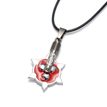 Naruto Action Figure Necklace Logo Sharingan Toys Anime Sasuke Uzumaki Akatsuki Madara