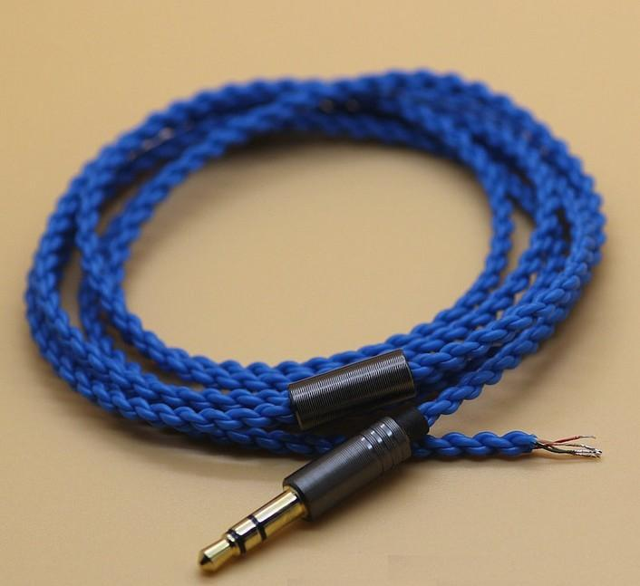 Single crystal copper headphone cable UE wire DIY earphone cable
