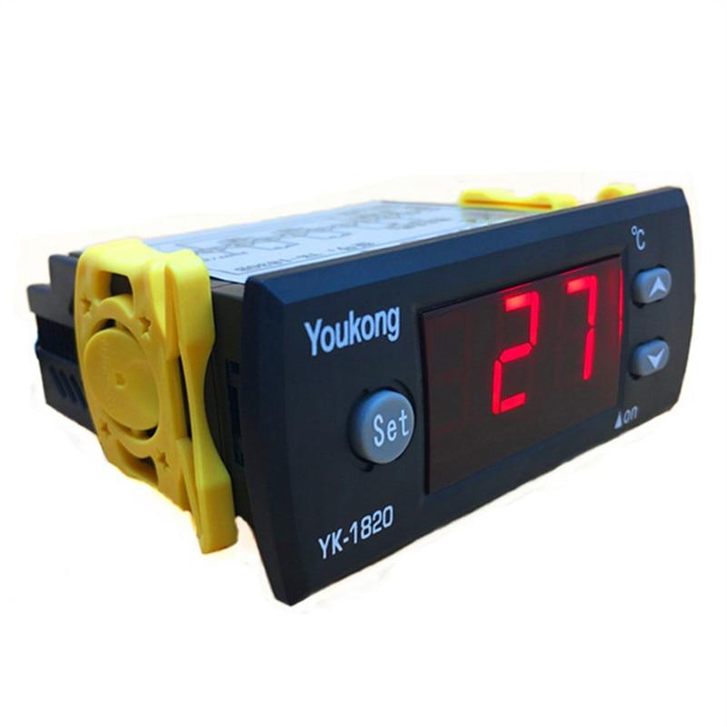 DEL Digital Contrôleur de température 12 V 10 A STC-1000 Capteur Sonde Thermostat