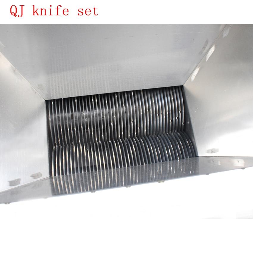 1pc QJ Meat cutting machine 2 35mm blade (can make to order special ) meat cutter blade Meat blade knife