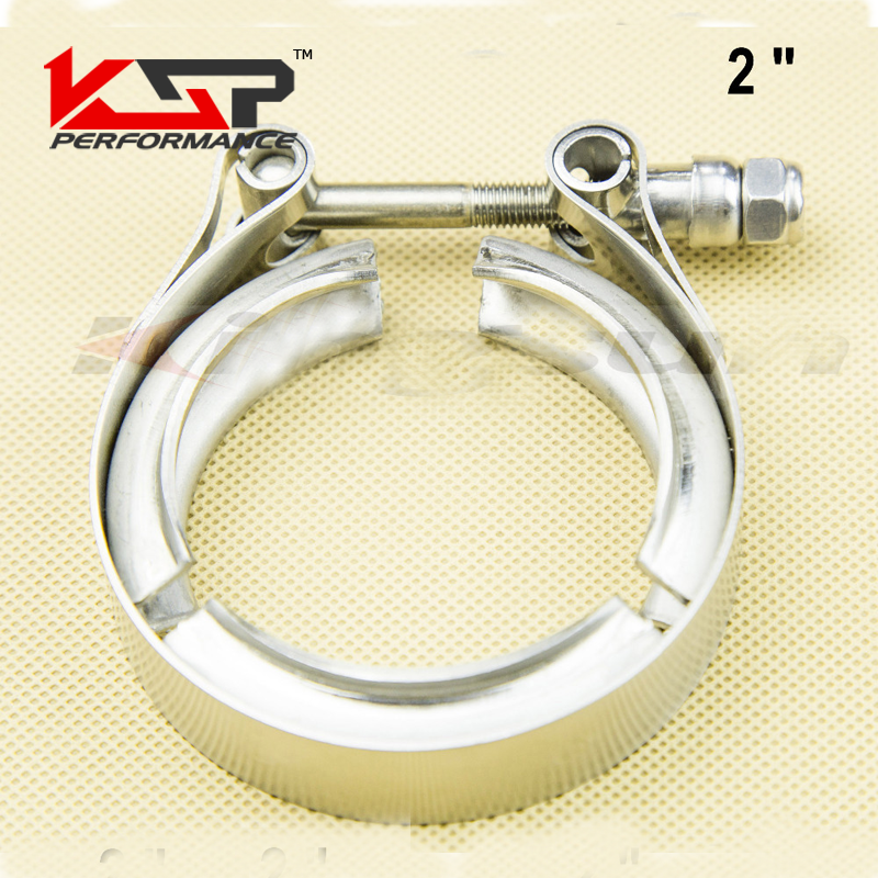 Kingsun 2 sus 304 Stainless Steel V Band Clamp With T Bolt Professional For Turbo /Exhaust Downpipes--Clamp Only