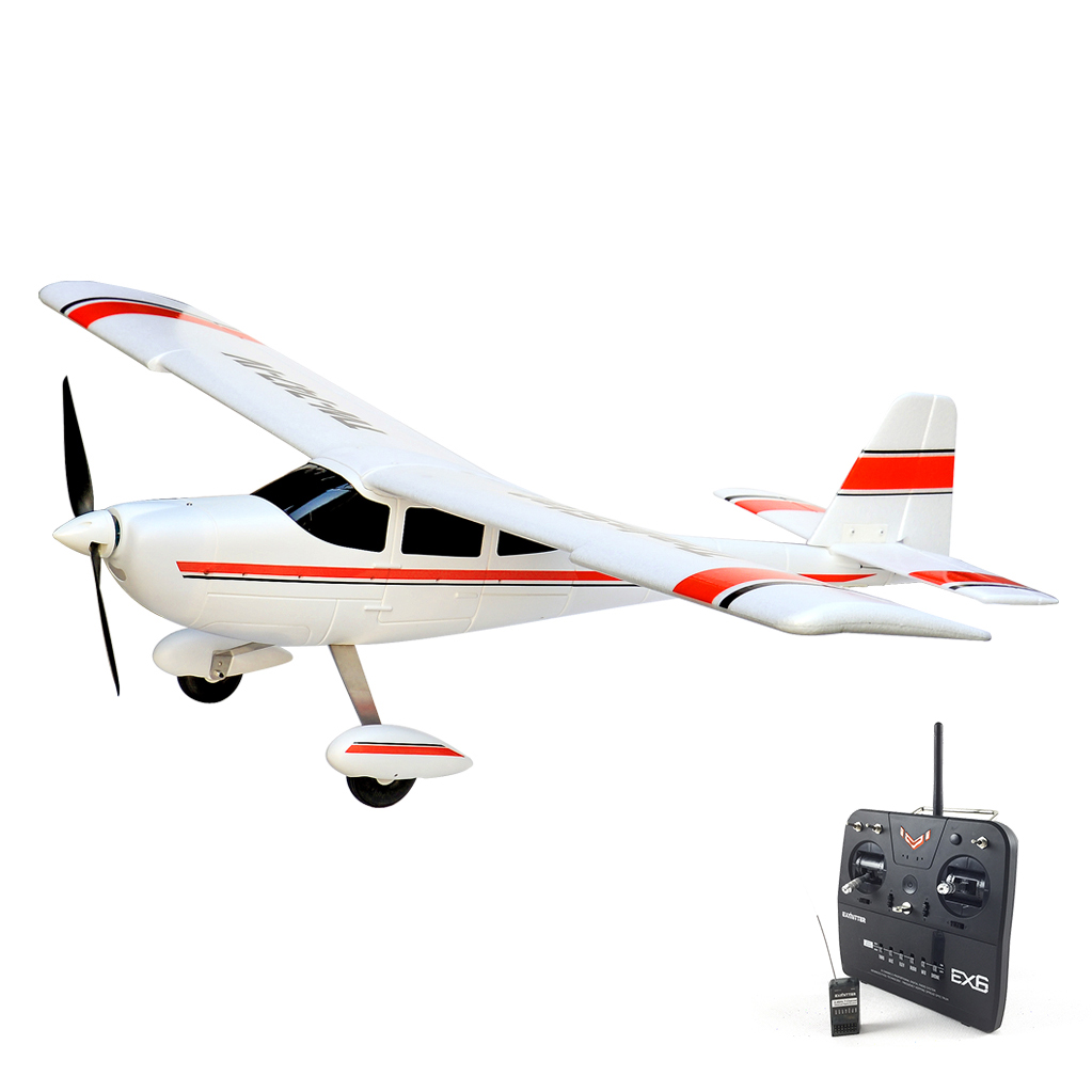 Volantex TrainStar RC RTF Plane Model W/ Brushless Motor Servo 30A ESC Battery volantex super decathlon rc rtf plane model w brushless motor servo esc battery