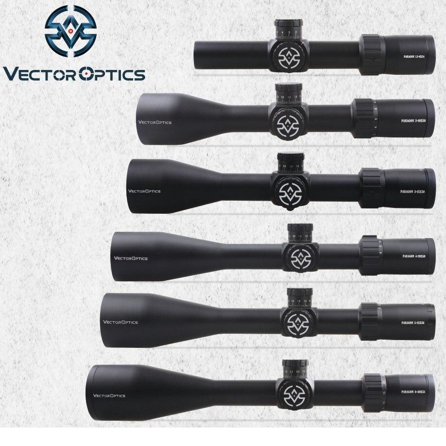 TAC Vector Optics Paragon 50mm 56mm Tactical Precision Rifle Scope High Quality Long Range Clear Image German Lens Riflescopes