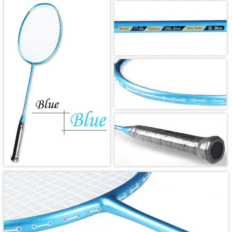 1 Pc 5U Super Léger 79g Badminton Raquette Tempête de Vent Badminton Balle Contrôle Raquette