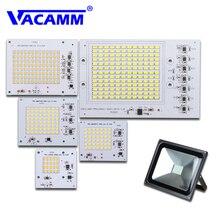 Светодиодный светильник, чип, бобы, лампады, светодиодные лампы SMD Smart IC 10 Вт, 20 Вт, 30 Вт, 50 Вт, 90 Вт, 220 В, напольный прожектор, светильник, белая/теплая лампа, высокая мощность