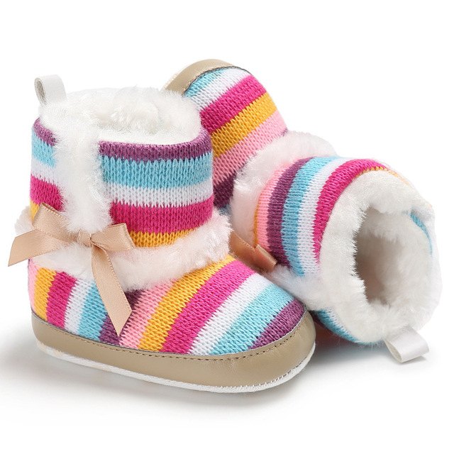 Erste Baby Stiefel Wanderer Schuhe Winter Mädchen Fleece Schuh OiTkuXPZ
