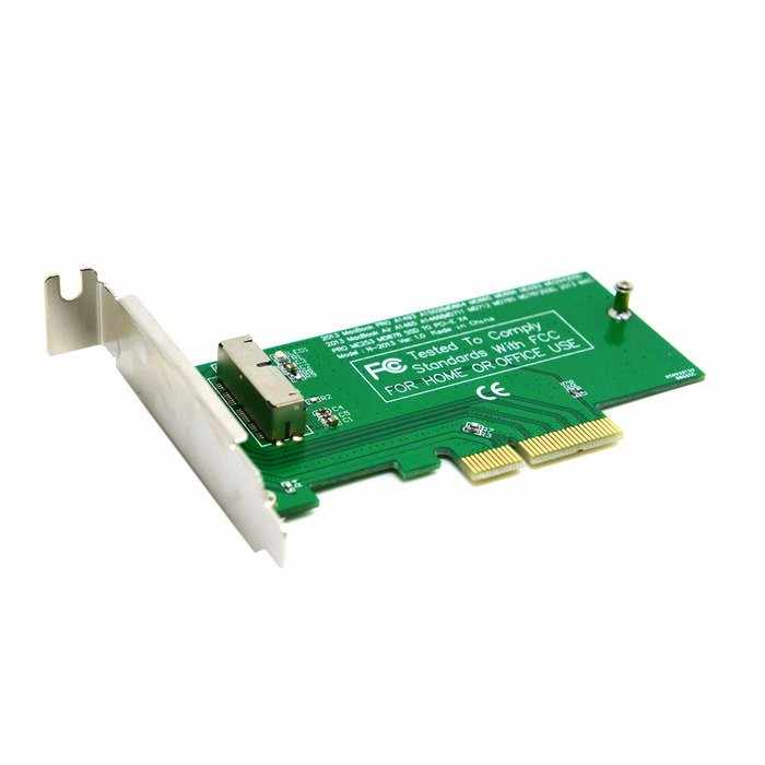 PCIE pci-express PCI-E PCI Express to pour 2013 2014 2015 Apple Macbook Pro Air SSD convertir carte pour A1493 A1502 A1465 A1466