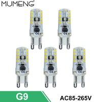 Mumeng G9 bombilla led 64 112 unids lámpara LED SMD3014 ampolla LED 110 V 220 V ahorro de energía de luz lampara para la lámpara casera 5/10X