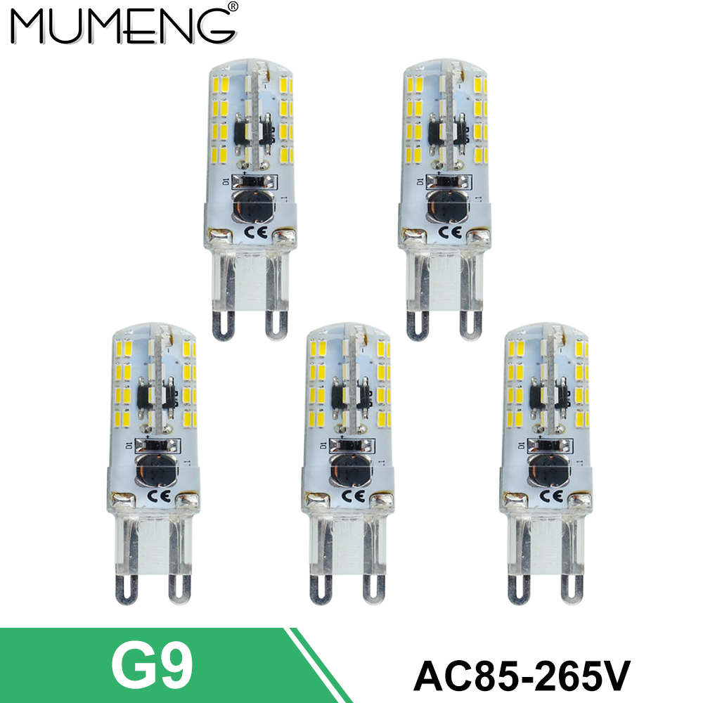 mumeng G9 LED Bulb 64 112pcs led Lamp SMD3014 Ampoule led 110V 220V <font><b>Light</b></font> Energy saving Lampara for home <font><b>chandelier</b></font> 5/10X