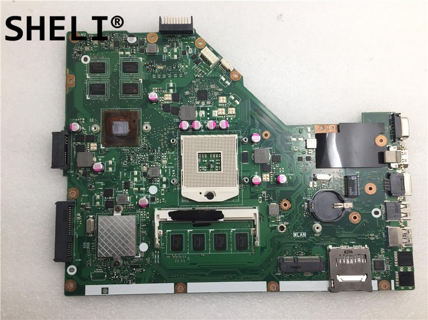 SHELI pour ASUS X55VD carte mère i3-4G X55VDR X55V X55C ordinateur portable carte mère X55VD carte mère test 100% OK