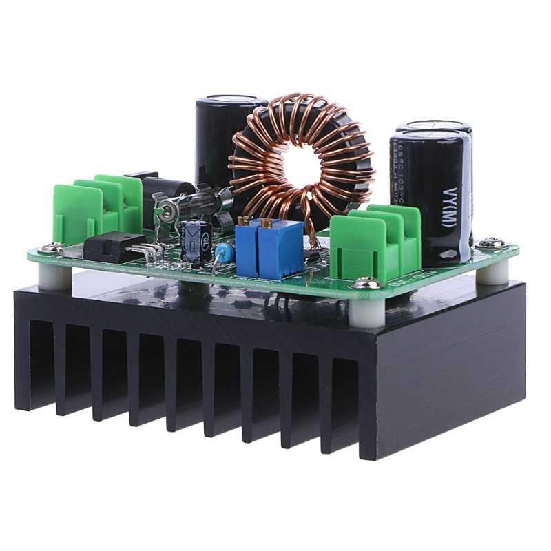 600 Вт DC 10 V-60 V-12 V 24V 36V 48V 80V 10A преобразователь Повышающий Модуль Питание