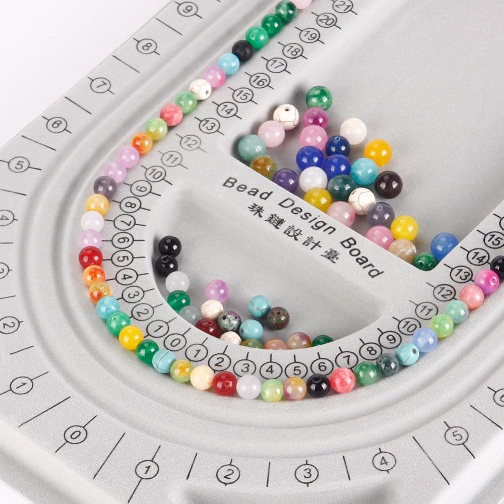 1 Stück Strömten Perle Bord Armband Perlen Schmuck Veranstalter Fach ...
