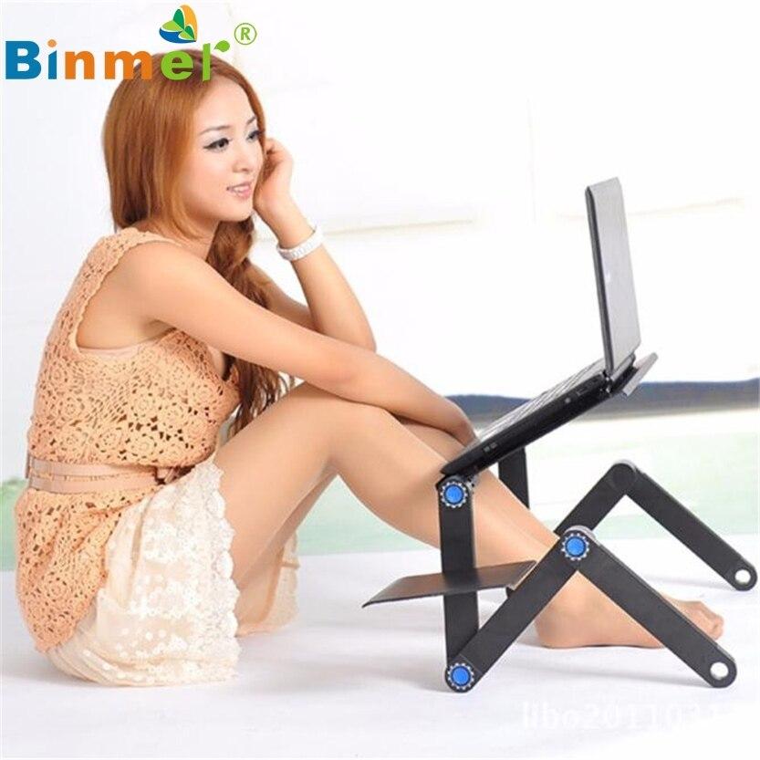 Регулируемая вентиляцией ноутбука настольный компьютер, ноутбук стол Портативный кровать лоток Книга sz0308 * 1.15