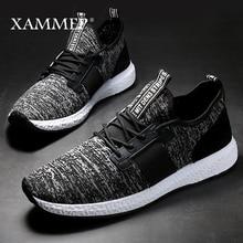 Men Casual Shoes Brand Men Shoes Men Sneakers Flats Slip On Mesh Loafers Male Breathable Plus Big Size Spring Autumn Xammep
