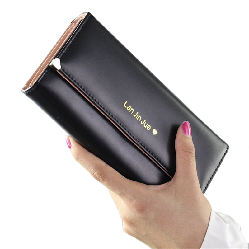 Clutch Fashion Long Zipper Lady Wallet Female Women Purse Luxury Brand Card Holder Money Bag Walet For Girls Cuzdan Vallet Phone
