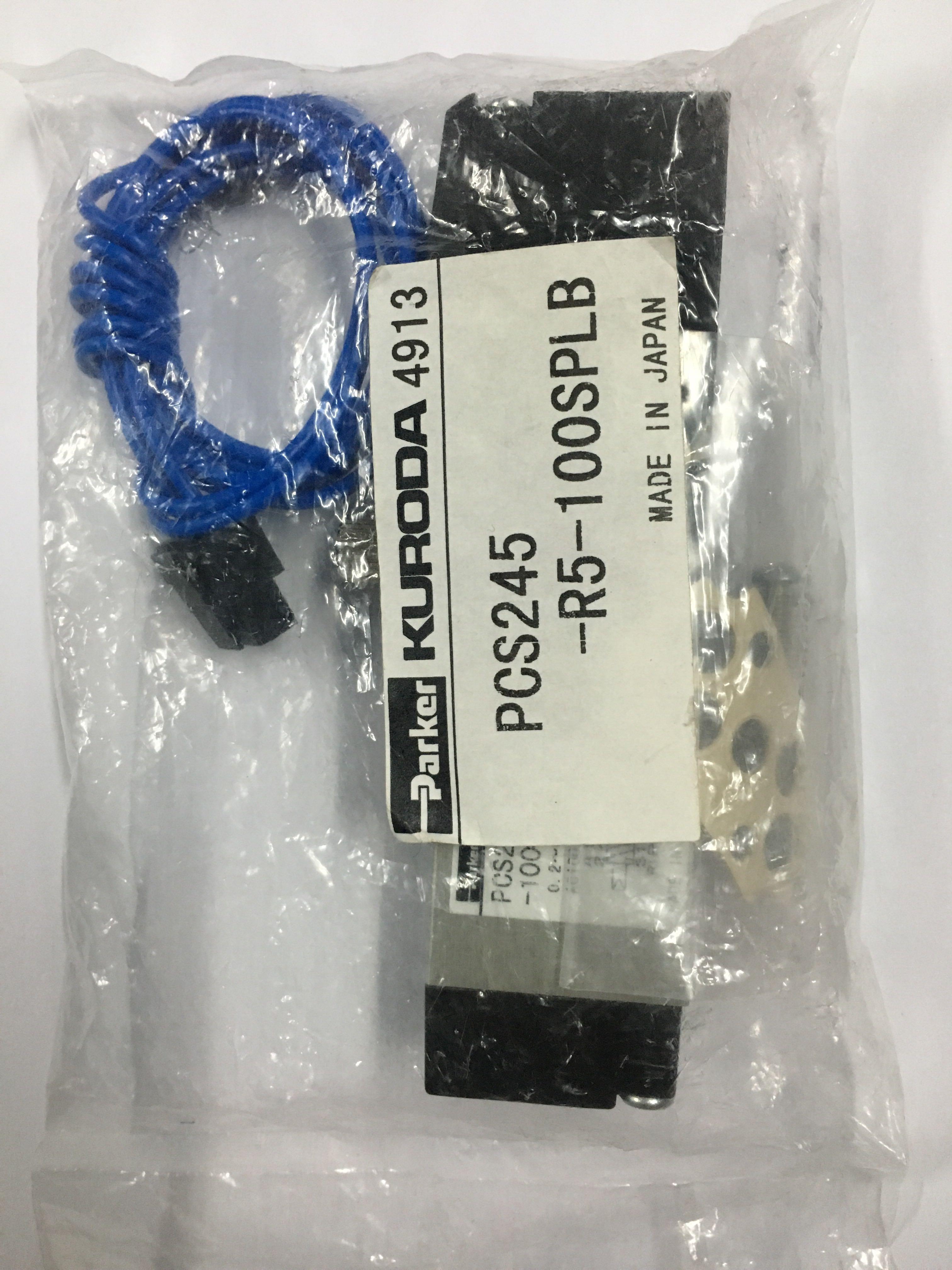 купить KURODA solenoid valve PCS245-R5-100SPLB brand new original по цене 6119.78 рублей