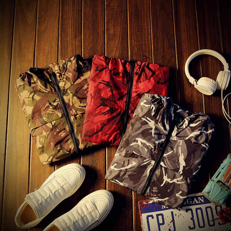 Man Camouflage jackets new spring Korean men's jacket (Asian size M-5XL)