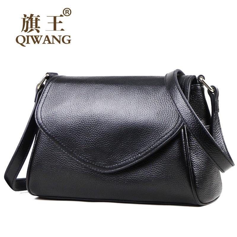 スモールクロスボディバッグ女性の本黒革のショルダーバッグデザイナーハンドバッグファッション女性牛革女性の手のショルダーバッグ  グループ上の スーツケース & バッグ からの ショッピングバッグ の中 1