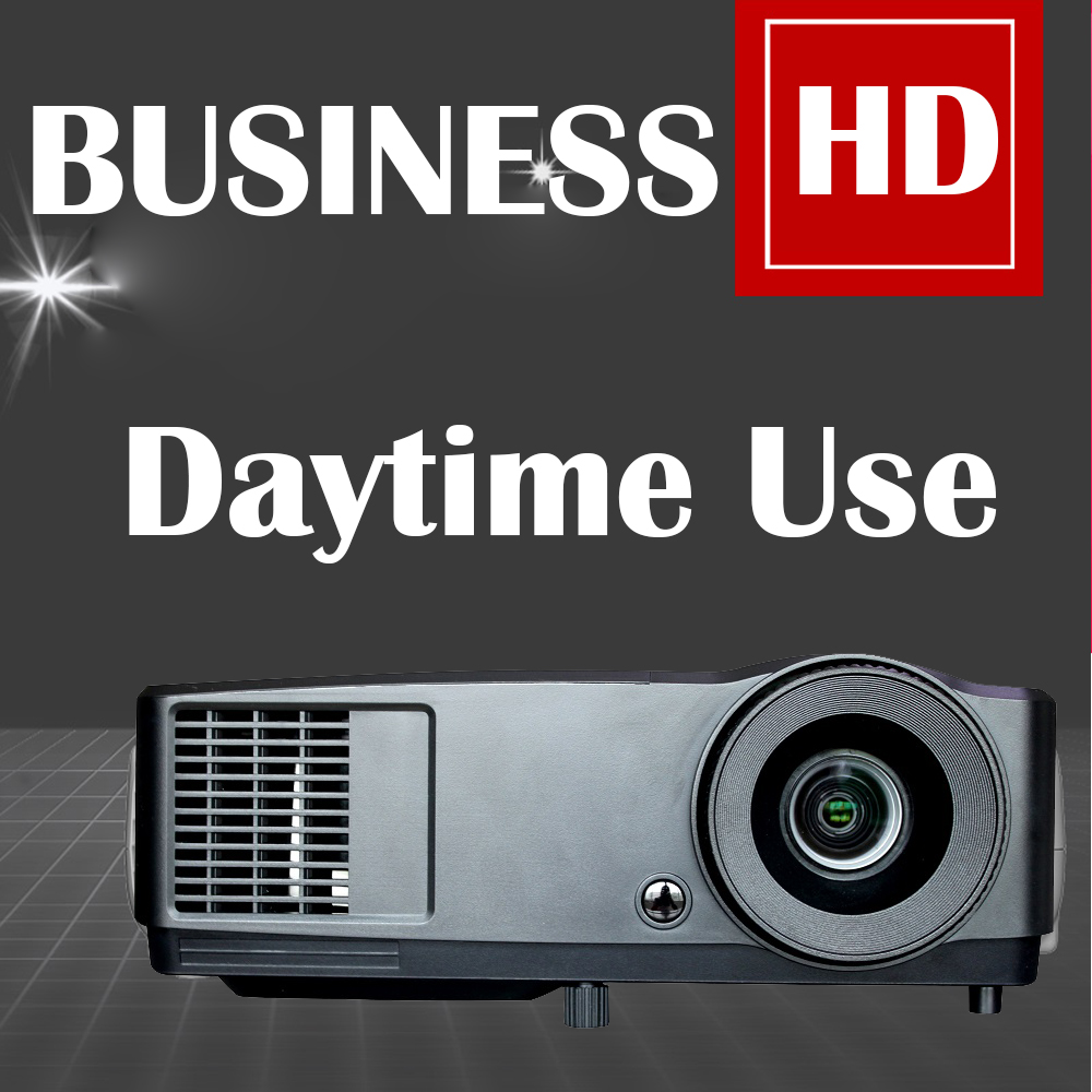 NEW 7000 lumens Projector 1080P Full HD 3D DLP Perfect for Education Business Meeting Daytime Video Proyector Beamer 203W lamp new short throw 300inch dlp hologram 3d projector hd pc usb vga daylight 1080p rear video beamer lamp for education school
