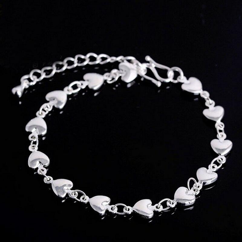 1 Pc Zilveren Armband 925 Massief Zilveren Sieraden Flat Snake Bone Armband & Bangle Aantrekkelijk En Duurzaam