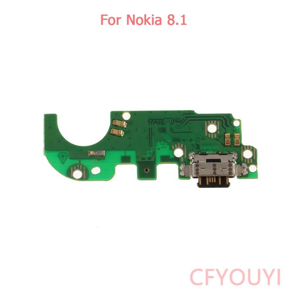For <font><b>Nokia</b></font> <font><b>8.1</b></font> X7 USB <font><b>Charger</b></font> Charging Port Dock Connector Board Flex Cable Part image