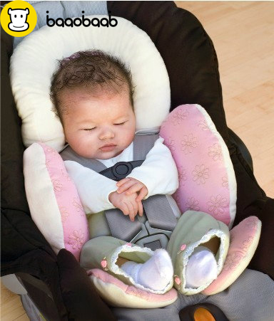 BAAOBAAB Baby stroller cushion car seat accessory Carriage thermal pad liner children shoulder belt strap cover Neck Protection