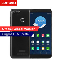 Orignal Lenovo K320t 2+16GB 18:9 Full Screen Mobile Phone Quad Core Android 7.0 Dual Rear Camera 8MP+2MP Fingerprint Smartphone Lenovo Phones
