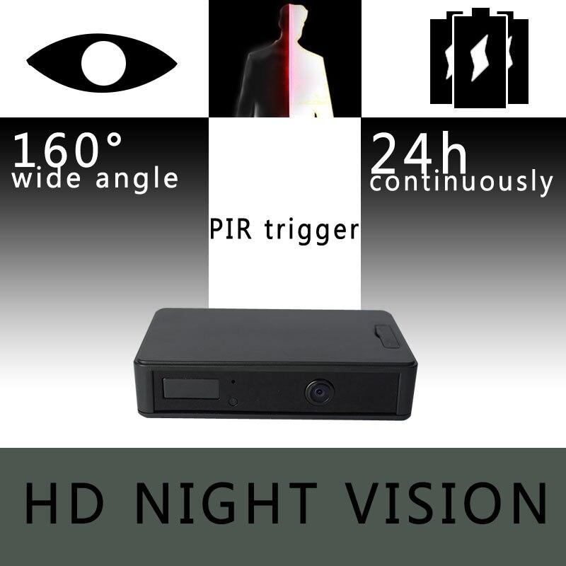 Zetta zir32 Невидимый ИК Сенсор Камеры Скрытого видеонаблюдения с 24 часа аккумулятор и широкоугольный объектив HD