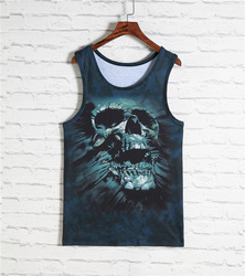 2016 new arrival mens 3d printing undershirt vest loose fit soft and breathable tank top hiphop.jpg 250x250