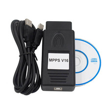 2019 Hot New MPPS V16 ECU Chip Tuning for EDC15 EDC16 EDC17 Inkl CHECKSUM Read And Write Memory CAN Flasher Remapper ECU Tool