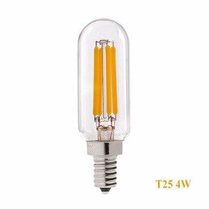 Image 4 - Grensk T8 2W 4W Âm Trần Đèn LED Bóng Đèn T25 Hình Ống Đài Phát Thanh Đèn LED Dây Tóc Bóng Đèn E12 110V E14 220V Trắng Ấm 2700K Đèn Ampoule LED
